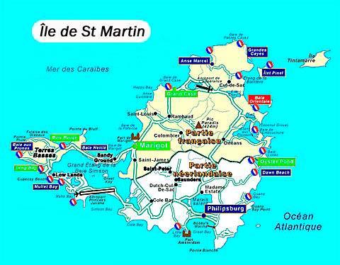 saint martin image de voyage